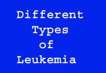 Different Types of Leukemia