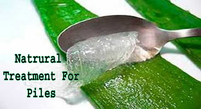 Natural Treatment Hemorrhoids Home Remedy