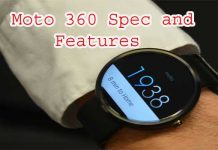 Moto 360 Specs And Features