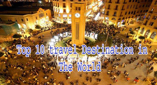 Best top 10 Adventure Travel Destinations in the World