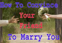 How to Convince Your Friend to Marry You