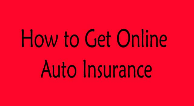 how to get full coverage auto insurance online