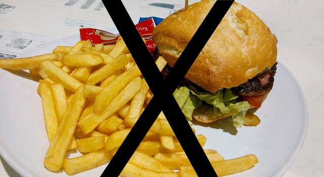No Junk Food To Prevent Your Body From Being A Junk