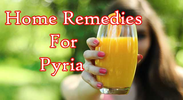 Homemade Treatment For Pyria