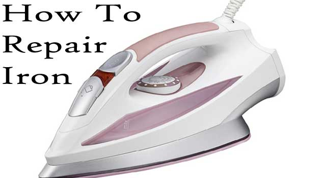 How to Repair an Electric Flat Iron