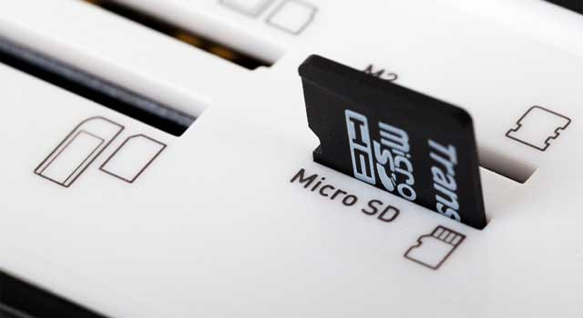 How to Remove Password from Micro SD / Memory Card