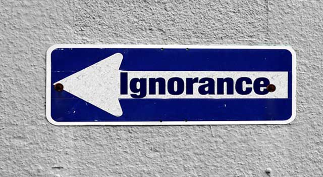 How to Tolerate Ignorance from Someone