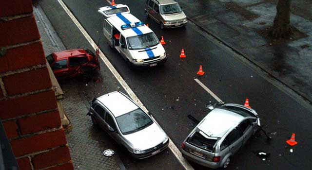 how to write a motor vehicle accident report