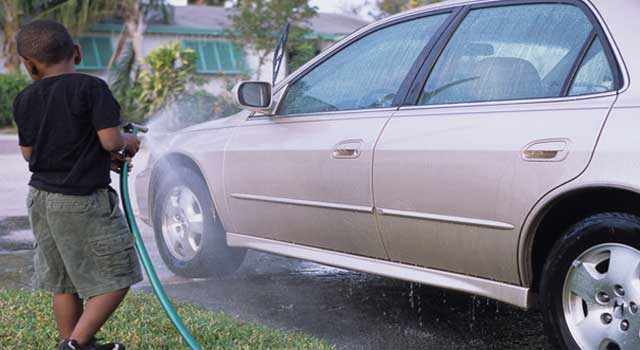 How to Make Your Car Shine At Home
