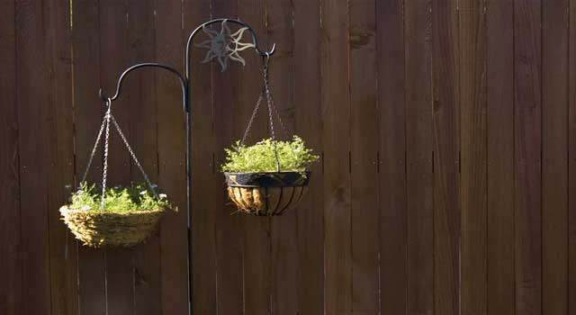 How to Make Your Own Hanging Flower Baskets