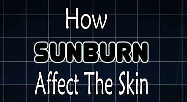 How Does Sunscreen Affect your Skin