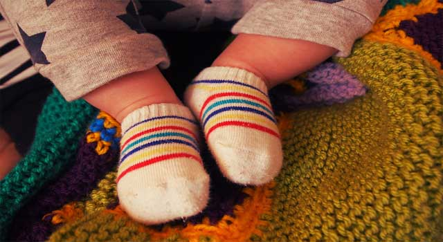 How to Knit Baby Socks