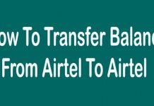 Tips to Transfer Balance from Airtel to Airtel