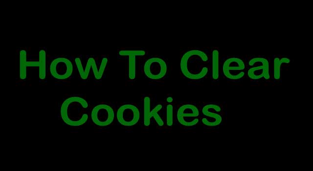 How to I Clear Cookies on My Computer